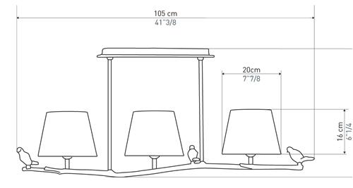 PLUM LAMP SUSPENSION LAMP OBJET INSOLITE FRANCE